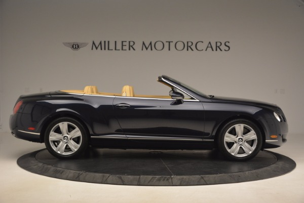 Used 2007 Bentley Continental GTC for sale Sold at Pagani of Greenwich in Greenwich CT 06830 9