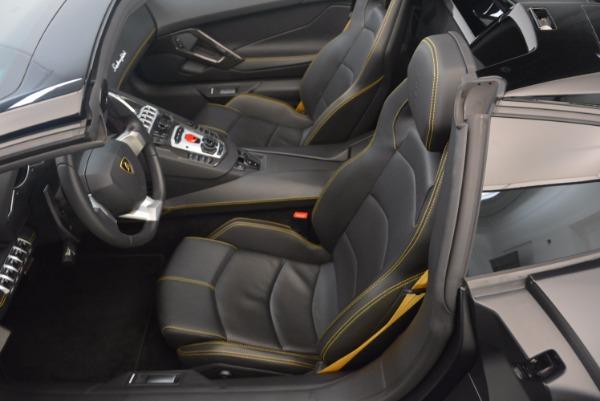 Used 2015 Lamborghini Aventador LP 700-4 for sale Sold at Pagani of Greenwich in Greenwich CT 06830 22