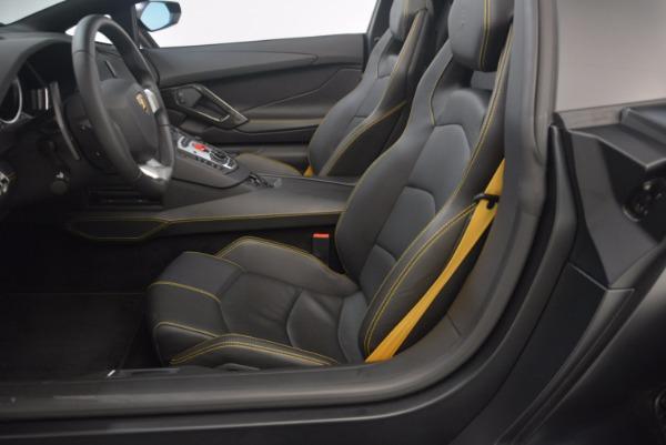 Used 2015 Lamborghini Aventador LP 700-4 for sale Sold at Pagani of Greenwich in Greenwich CT 06830 24