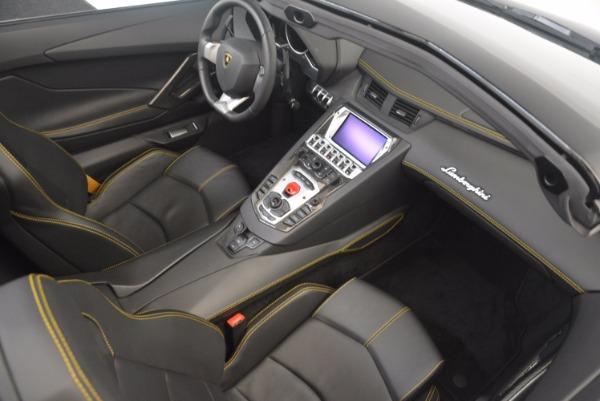 Used 2015 Lamborghini Aventador LP 700-4 for sale Sold at Pagani of Greenwich in Greenwich CT 06830 27