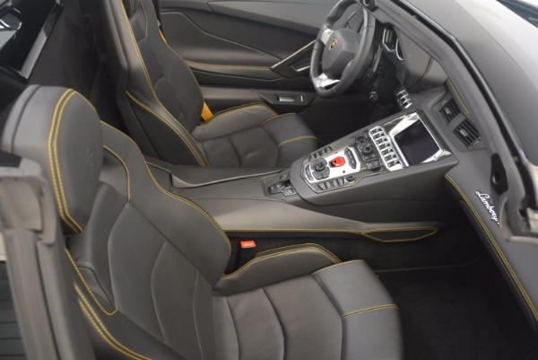 Used 2015 Lamborghini Aventador LP 700-4 for sale Sold at Pagani of Greenwich in Greenwich CT 06830 28