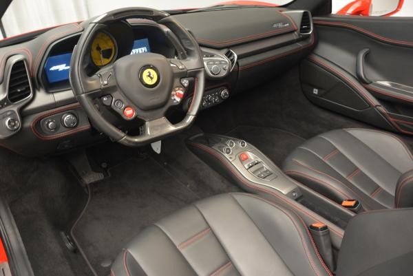 Used 2014 Ferrari 458 Spider for sale Sold at Pagani of Greenwich in Greenwich CT 06830 25