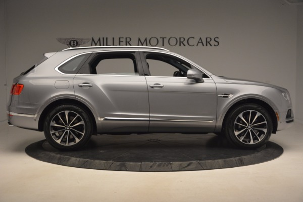 New 2018 Bentley Bentayga Onyx for sale Sold at Pagani of Greenwich in Greenwich CT 06830 9