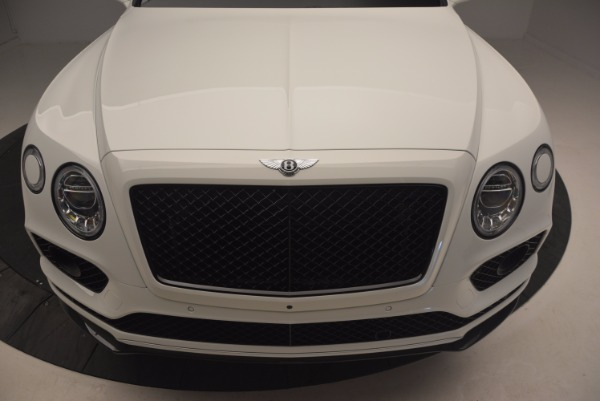 New 2018 Bentley Bentayga Black Edition for sale Sold at Pagani of Greenwich in Greenwich CT 06830 13