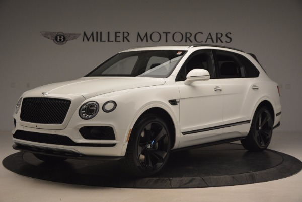New 2018 Bentley Bentayga Black Edition for sale Sold at Pagani of Greenwich in Greenwich CT 06830 2
