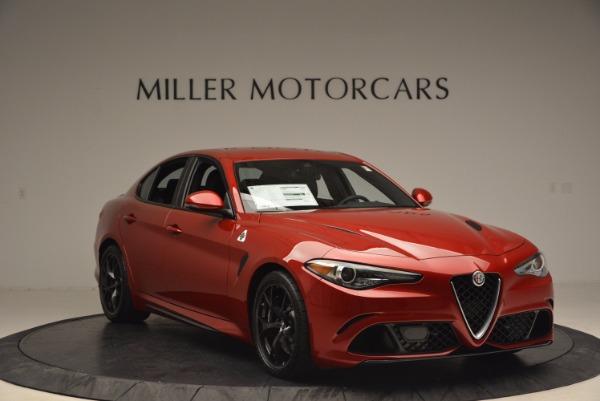 New 2017 Alfa Romeo Giulia Quadrifoglio Quadrifoglio for sale Sold at Pagani of Greenwich in Greenwich CT 06830 11