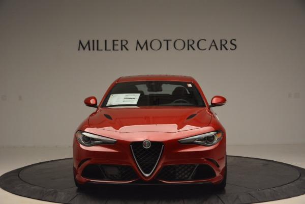 New 2017 Alfa Romeo Giulia Quadrifoglio Quadrifoglio for sale Sold at Pagani of Greenwich in Greenwich CT 06830 12