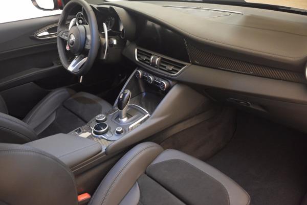 New 2017 Alfa Romeo Giulia Quadrifoglio Quadrifoglio for sale Sold at Pagani of Greenwich in Greenwich CT 06830 20