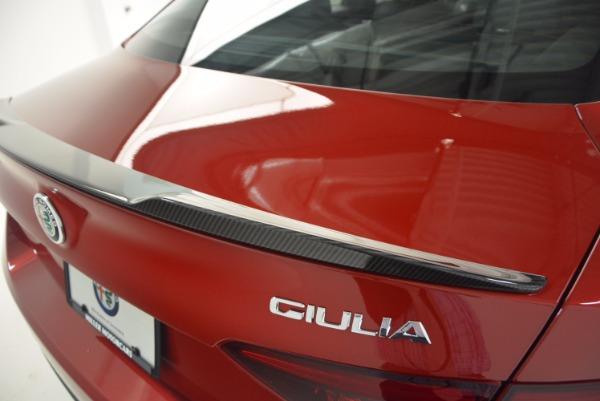 New 2017 Alfa Romeo Giulia Quadrifoglio Quadrifoglio for sale Sold at Pagani of Greenwich in Greenwich CT 06830 27