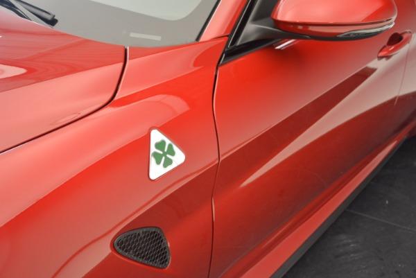 New 2017 Alfa Romeo Giulia Quadrifoglio Quadrifoglio for sale Sold at Pagani of Greenwich in Greenwich CT 06830 28