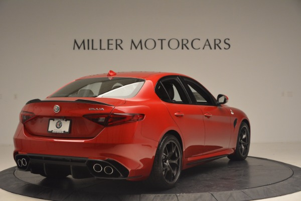 New 2017 Alfa Romeo Giulia Quadrifoglio Quadrifoglio for sale Sold at Pagani of Greenwich in Greenwich CT 06830 7