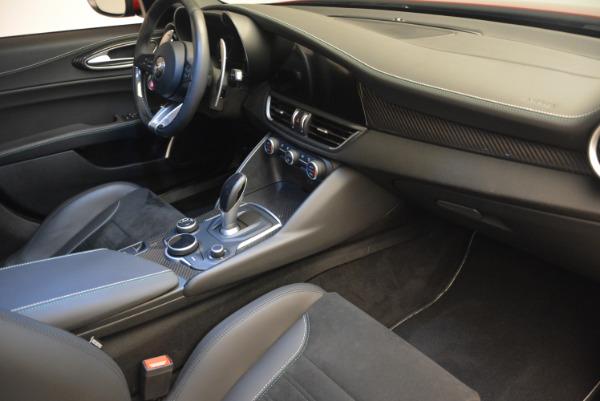 Used 2017 Alfa Romeo Giulia Quadrifoglio for sale Sold at Pagani of Greenwich in Greenwich CT 06830 21