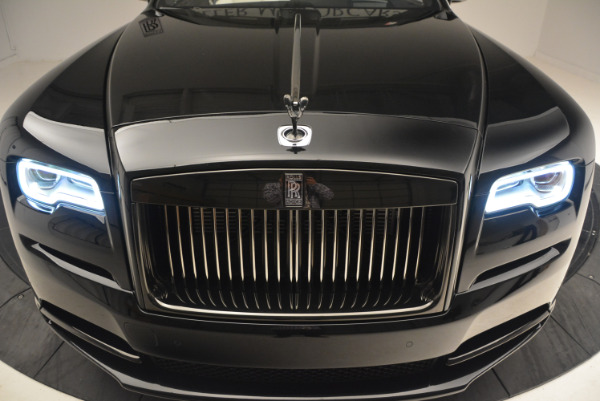 Used 2018 Rolls-Royce Dawn Black Badge for sale Call for price at Pagani of Greenwich in Greenwich CT 06830 26