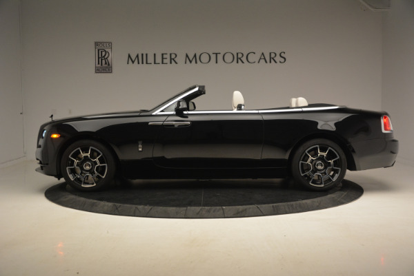 Used 2018 Rolls-Royce Dawn Black Badge for sale Call for price at Pagani of Greenwich in Greenwich CT 06830 3