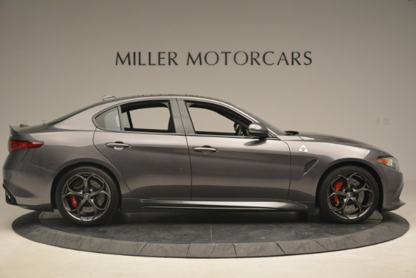 New 2017 Alfa Romeo Giulia Quadrifoglio for sale Sold at Pagani of Greenwich in Greenwich CT 06830 10