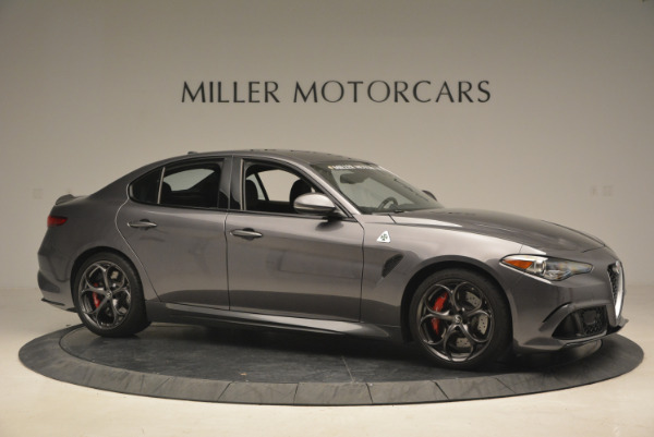 New 2017 Alfa Romeo Giulia Quadrifoglio for sale Sold at Pagani of Greenwich in Greenwich CT 06830 11