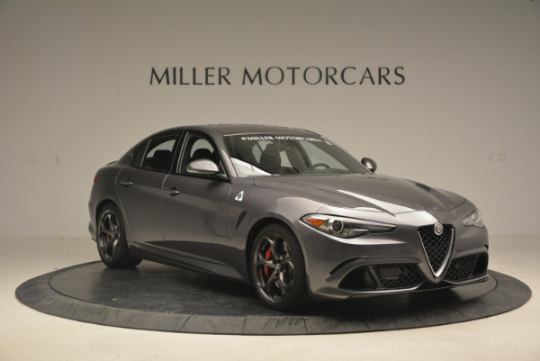 New 2017 Alfa Romeo Giulia Quadrifoglio for sale Sold at Pagani of Greenwich in Greenwich CT 06830 12