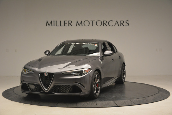 New 2017 Alfa Romeo Giulia Quadrifoglio for sale Sold at Pagani of Greenwich in Greenwich CT 06830 2