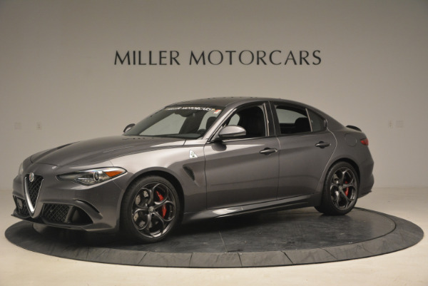 New 2017 Alfa Romeo Giulia Quadrifoglio for sale Sold at Pagani of Greenwich in Greenwich CT 06830 3