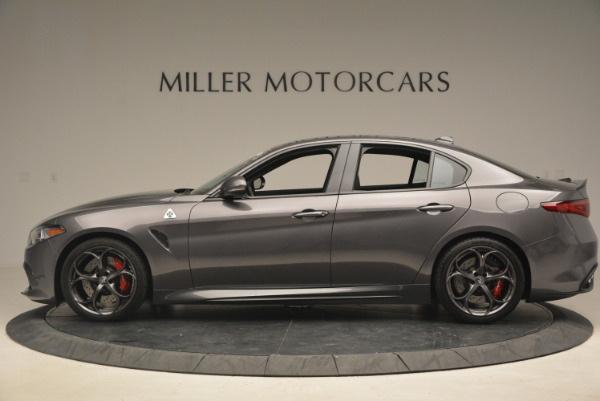 New 2017 Alfa Romeo Giulia Quadrifoglio for sale Sold at Pagani of Greenwich in Greenwich CT 06830 4