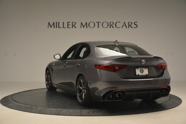 New 2017 Alfa Romeo Giulia Quadrifoglio for sale Sold at Pagani of Greenwich in Greenwich CT 06830 6