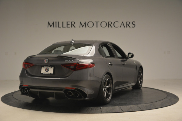 New 2017 Alfa Romeo Giulia Quadrifoglio for sale Sold at Pagani of Greenwich in Greenwich CT 06830 8