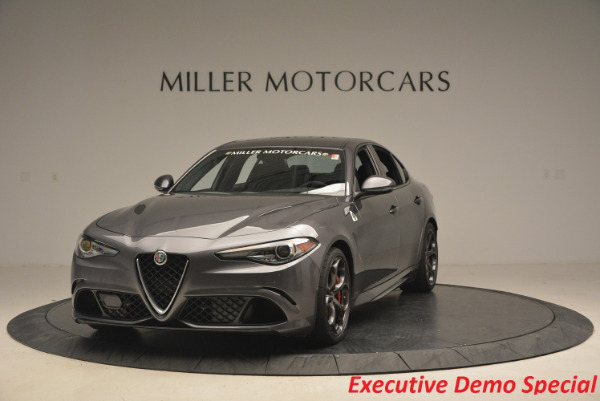 New 2017 Alfa Romeo Giulia Quadrifoglio for sale Sold at Pagani of Greenwich in Greenwich CT 06830 1