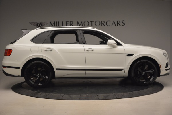 New 2018 Bentley Bentayga Black Edition for sale Sold at Pagani of Greenwich in Greenwich CT 06830 9