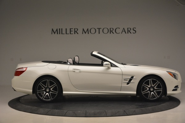 Used 2015 Mercedes Benz SL-Class SL 550 for sale Sold at Pagani of Greenwich in Greenwich CT 06830 10