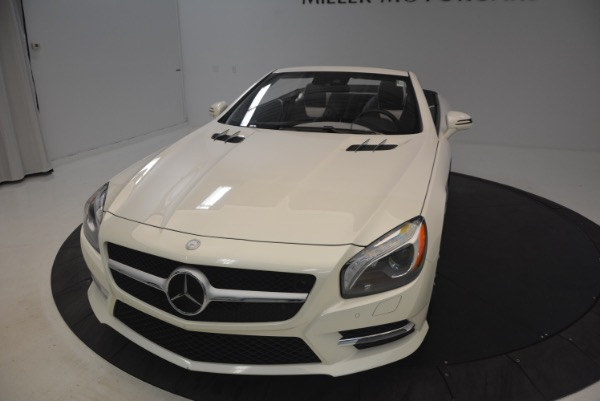 Used 2015 Mercedes Benz SL-Class SL 550 for sale Sold at Pagani of Greenwich in Greenwich CT 06830 26