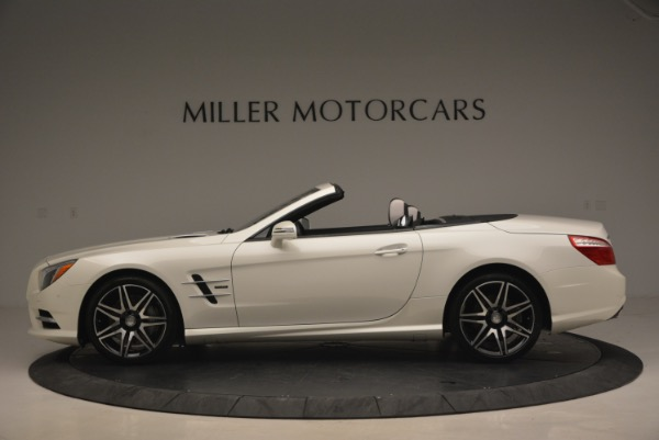 Used 2015 Mercedes Benz SL-Class SL 550 for sale Sold at Pagani of Greenwich in Greenwich CT 06830 3