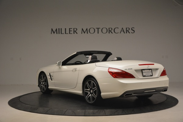 Used 2015 Mercedes Benz SL-Class SL 550 for sale Sold at Pagani of Greenwich in Greenwich CT 06830 5