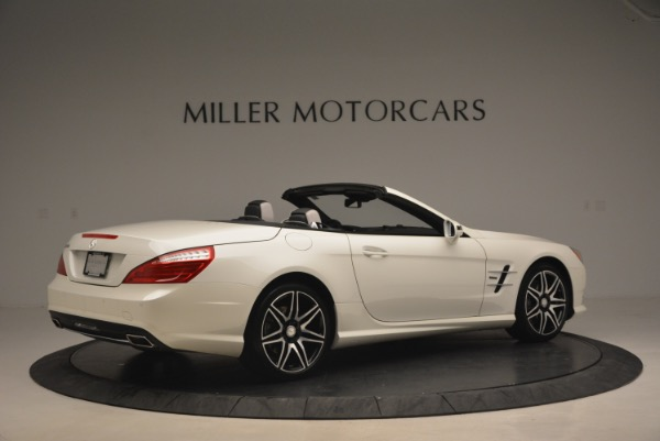 Used 2015 Mercedes Benz SL-Class SL 550 for sale Sold at Pagani of Greenwich in Greenwich CT 06830 8
