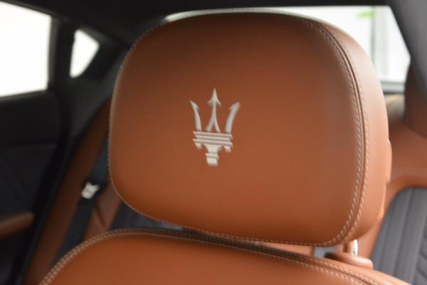 New 2017 Maserati Quattroporte S Q4 GranLusso for sale Sold at Pagani of Greenwich in Greenwich CT 06830 20