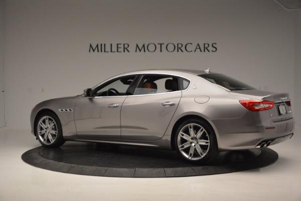 New 2017 Maserati Quattroporte S Q4 GranLusso for sale Sold at Pagani of Greenwich in Greenwich CT 06830 4