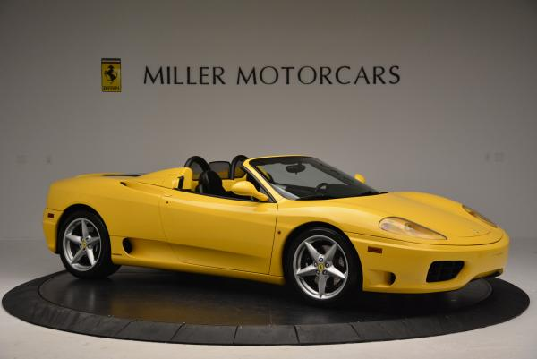 Used 2003 Ferrari 360 Spider 6-Speed Manual for sale Sold at Pagani of Greenwich in Greenwich CT 06830 10