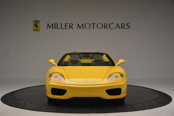 Used 2003 Ferrari 360 Spider 6-Speed Manual for sale Sold at Pagani of Greenwich in Greenwich CT 06830 12