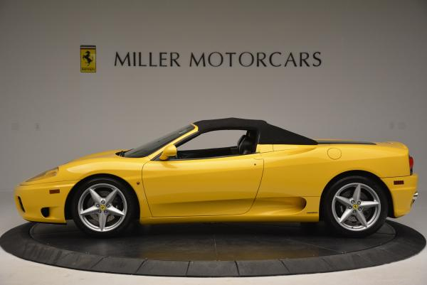Used 2003 Ferrari 360 Spider 6-Speed Manual for sale Sold at Pagani of Greenwich in Greenwich CT 06830 15