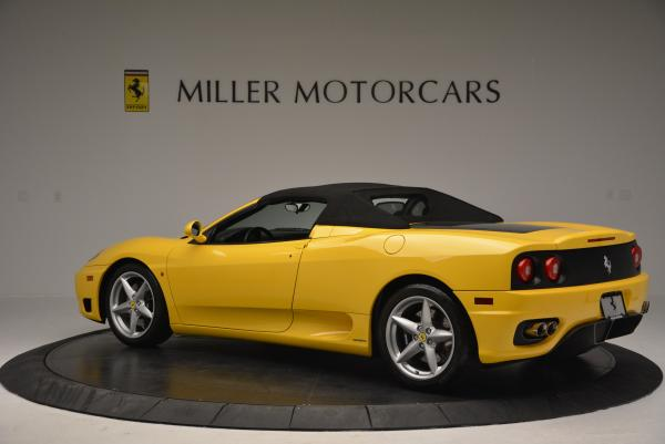 Used 2003 Ferrari 360 Spider 6-Speed Manual for sale Sold at Pagani of Greenwich in Greenwich CT 06830 16