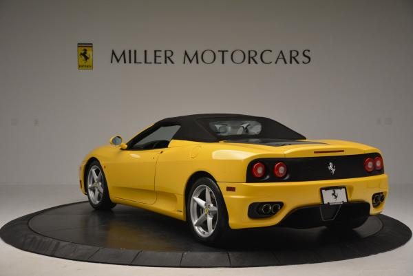 Used 2003 Ferrari 360 Spider 6-Speed Manual for sale Sold at Pagani of Greenwich in Greenwich CT 06830 17