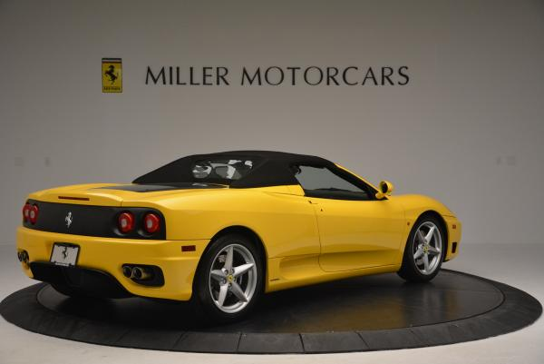 Used 2003 Ferrari 360 Spider 6-Speed Manual for sale Sold at Pagani of Greenwich in Greenwich CT 06830 20