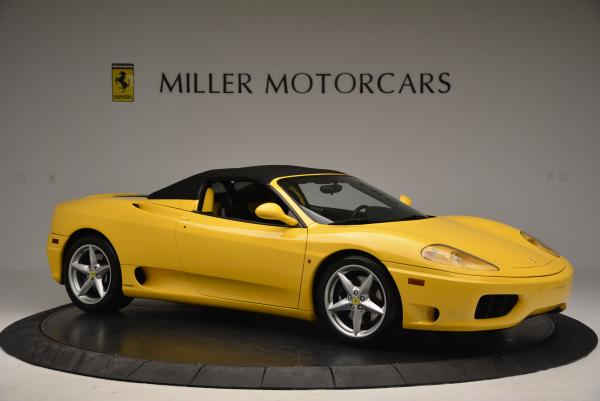 Used 2003 Ferrari 360 Spider 6-Speed Manual for sale Sold at Pagani of Greenwich in Greenwich CT 06830 22