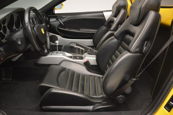 Used 2003 Ferrari 360 Spider 6-Speed Manual for sale Sold at Pagani of Greenwich in Greenwich CT 06830 26