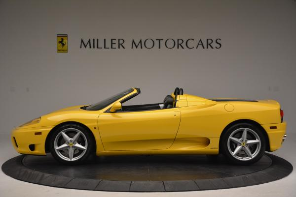 Used 2003 Ferrari 360 Spider 6-Speed Manual for sale Sold at Pagani of Greenwich in Greenwich CT 06830 3