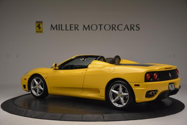 Used 2003 Ferrari 360 Spider 6-Speed Manual for sale Sold at Pagani of Greenwich in Greenwich CT 06830 4