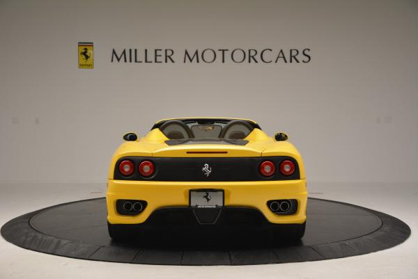 Used 2003 Ferrari 360 Spider 6-Speed Manual for sale Sold at Pagani of Greenwich in Greenwich CT 06830 6