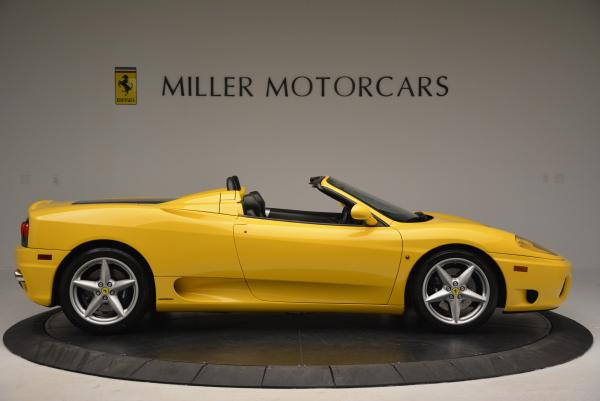Used 2003 Ferrari 360 Spider 6-Speed Manual for sale Sold at Pagani of Greenwich in Greenwich CT 06830 9