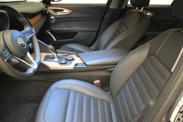 New 2017 Alfa Romeo Giulia Ti Lusso Q4 for sale Sold at Pagani of Greenwich in Greenwich CT 06830 14