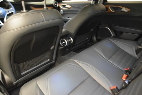 New 2017 Alfa Romeo Giulia Ti Lusso Q4 for sale Sold at Pagani of Greenwich in Greenwich CT 06830 16