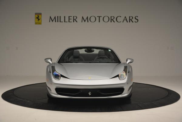 Used 2013 Ferrari 458 Spider for sale Sold at Pagani of Greenwich in Greenwich CT 06830 12